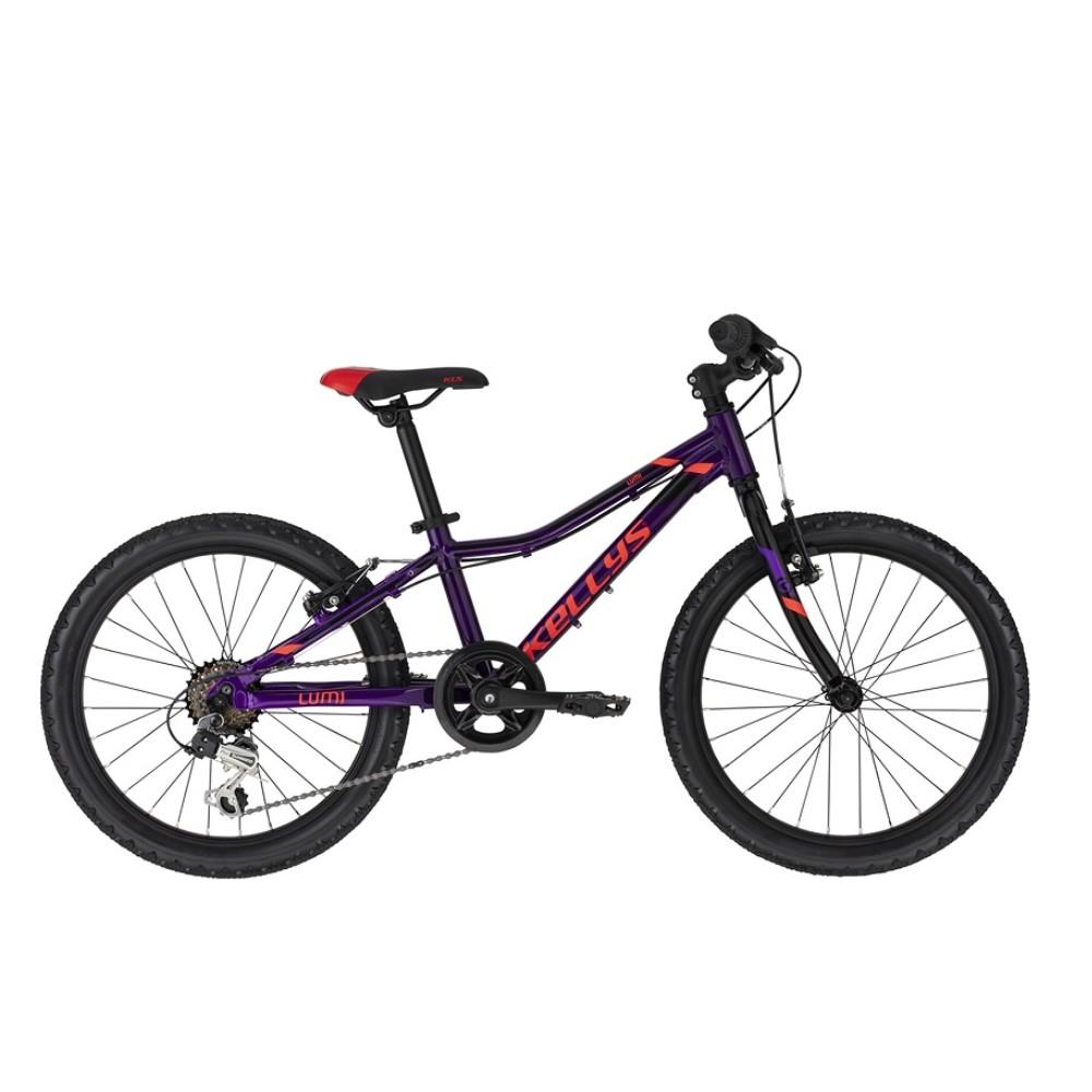 "Detský bicykel KELLYS LUMI 30 20"" - model 2021 Purple - Záruka 10 rokov"