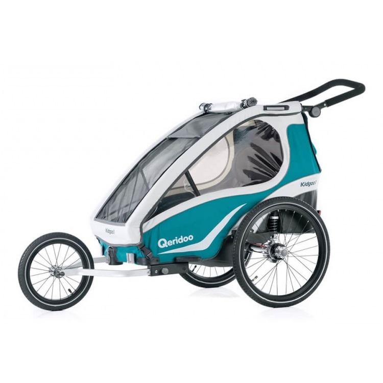 Multifunkčný detský vozík Qeridoo KidGoo 2 2019 Aquamarin