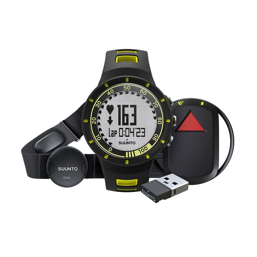 Športtester Suunto Quest Yellow GPS Pack