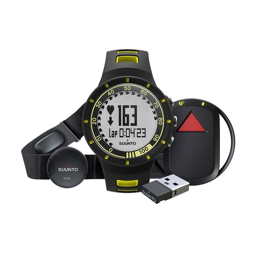 Športtester Suunto Quest Yellow GPS Pack