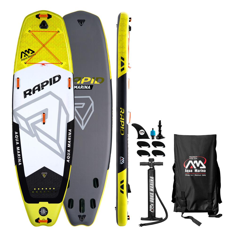 Paddleboard na divokú vodu Aqua Marina Rapid - model 2018