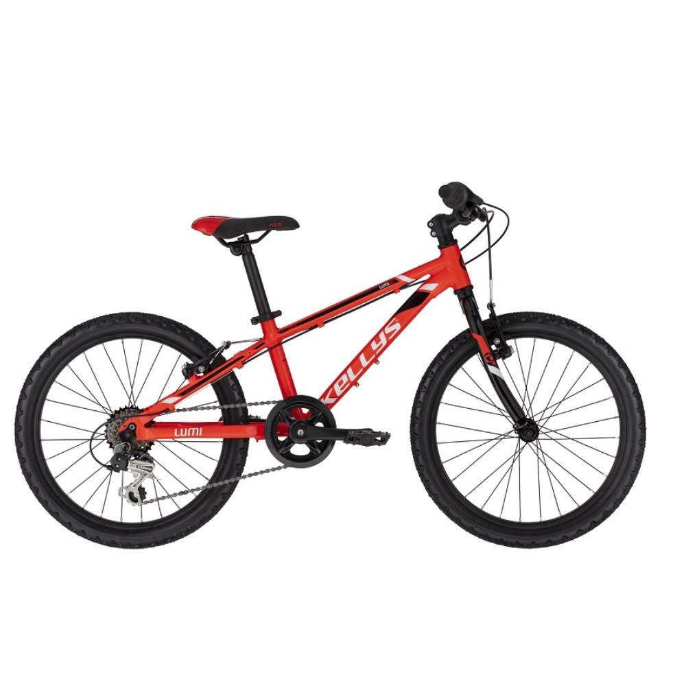 "Detský bicykel KELLYS LUMI 30 20"" - model 2021 Red - Záruka 10 rokov"