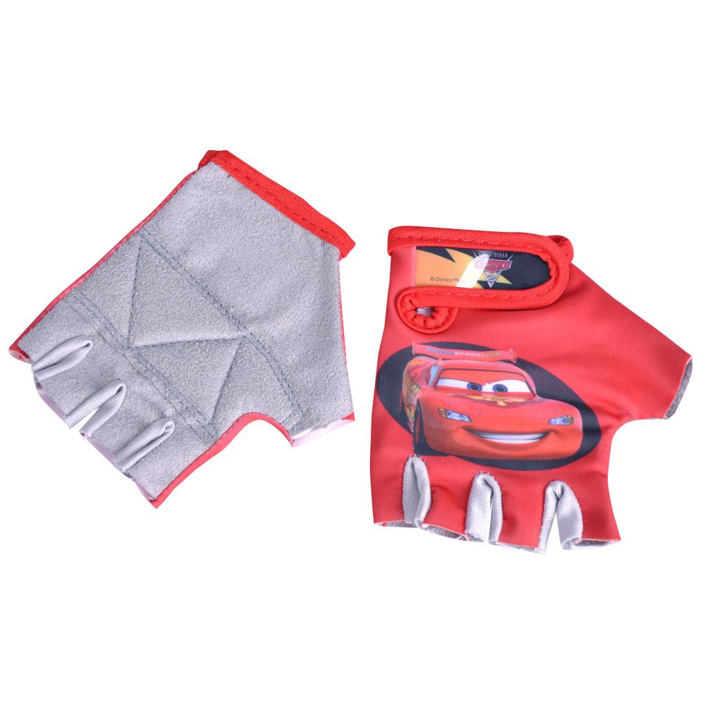 Detské cyklo rukavice Disney Cars červená