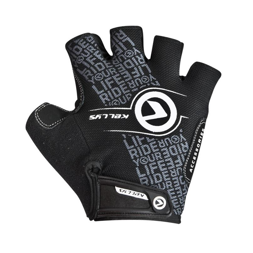 Cyklo rukavice KELLYS COMFORT NEW čierno-biela - L