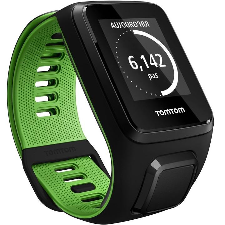 Športtester TomTom Runner 3 - čierno-zelená