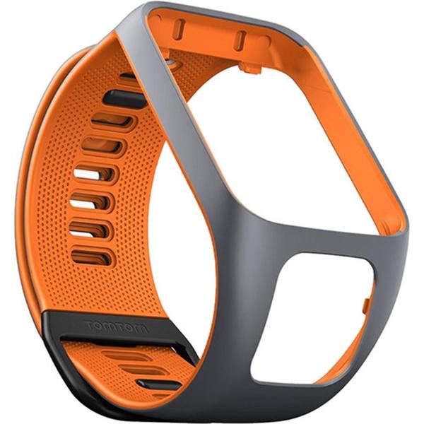 Remienok pre TomTom Watch 3 šedo-oranžová