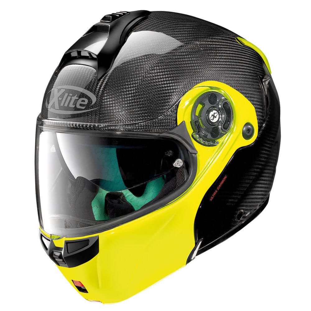 Moto prilba X-lite X-1004 Ultra Carbon Dyad Fluo Yellow