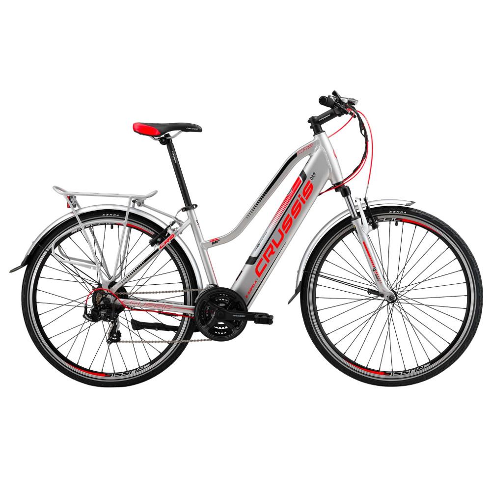 """Dámsky trekingový elektrobicykel Crussis e-Savela 1.4 - model 2019 19"""" - Záruka 10 rokov"""