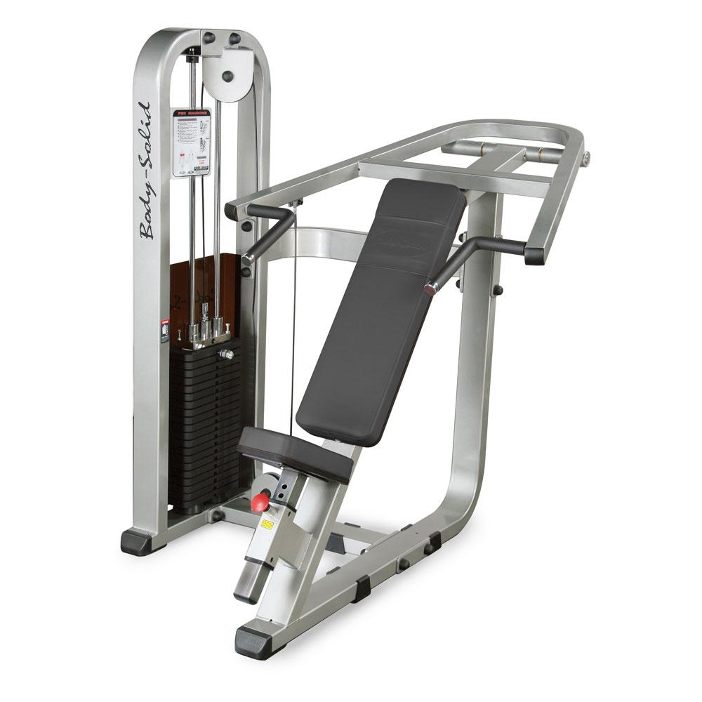 Posilňovací stroj -  hrudné svaly a ramená Body-Solid SIP-1400G/2