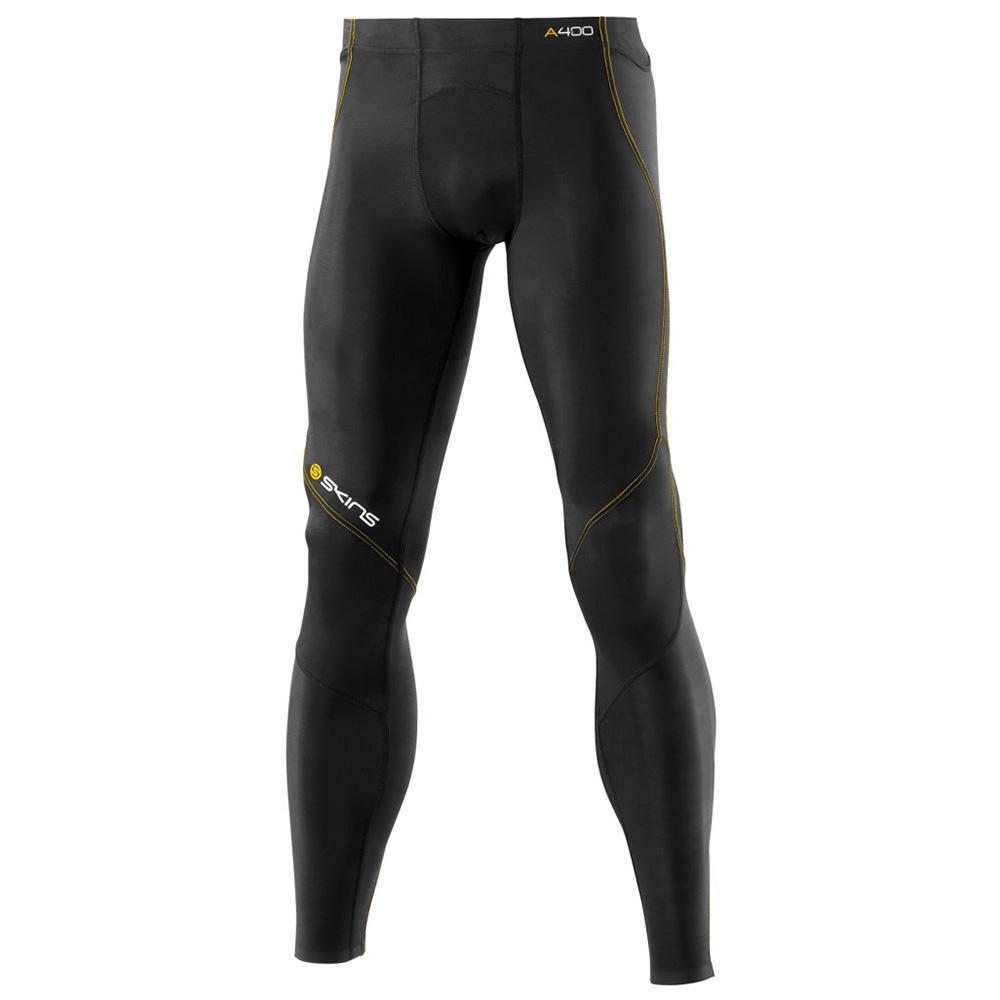 Pánske dlhé kompresné nohavice Skins A400