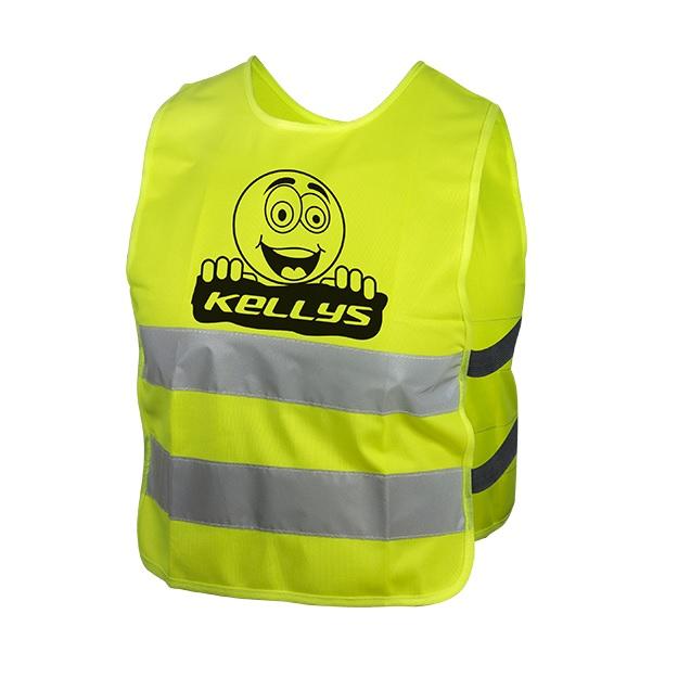 Detská reflexná vesta Kellys Starlight Smajlík - M