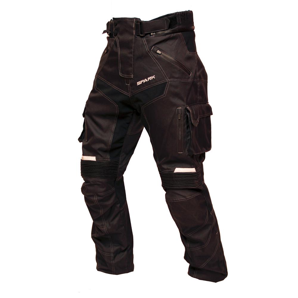Pánske moto nohavice Spark Pero čierna - M