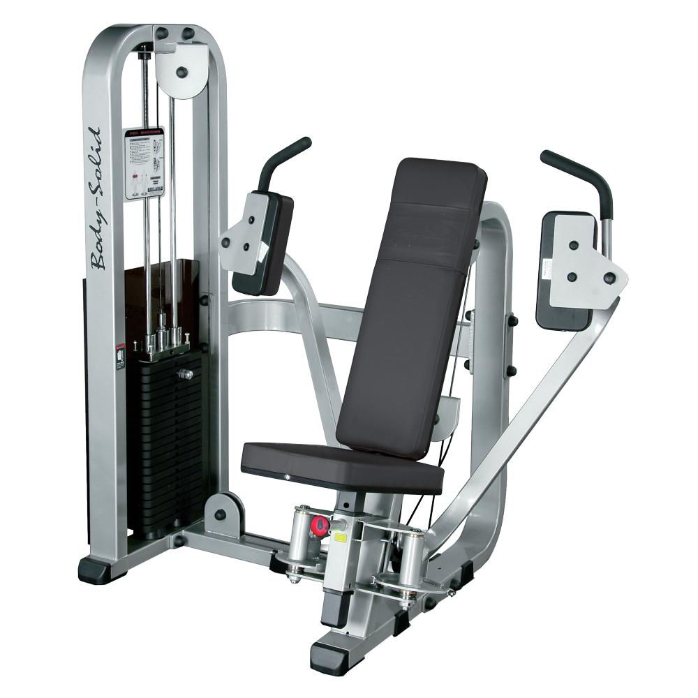 Posilňovač prsných svalov a ramien Body-Solid SPD-700G/2