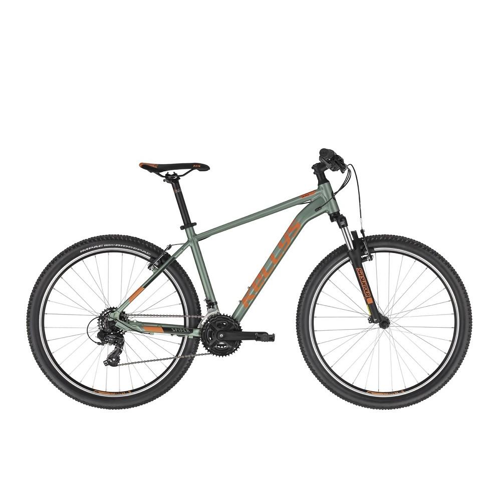 """Horský bicykel KELLYS SPIDER 10 27,5"""" - model 2021 Green - S (16.5"""") - Záruka 10 rokov"""