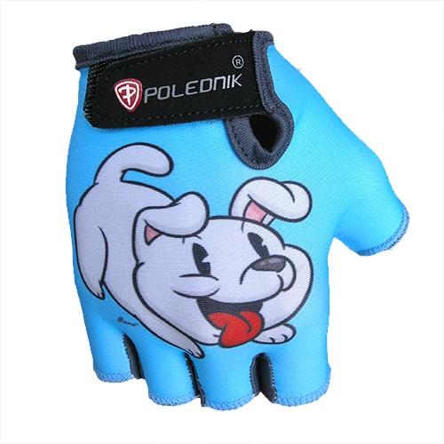 Detské cyklo rukavice POLEDNIK Baby New šteniatko - 3