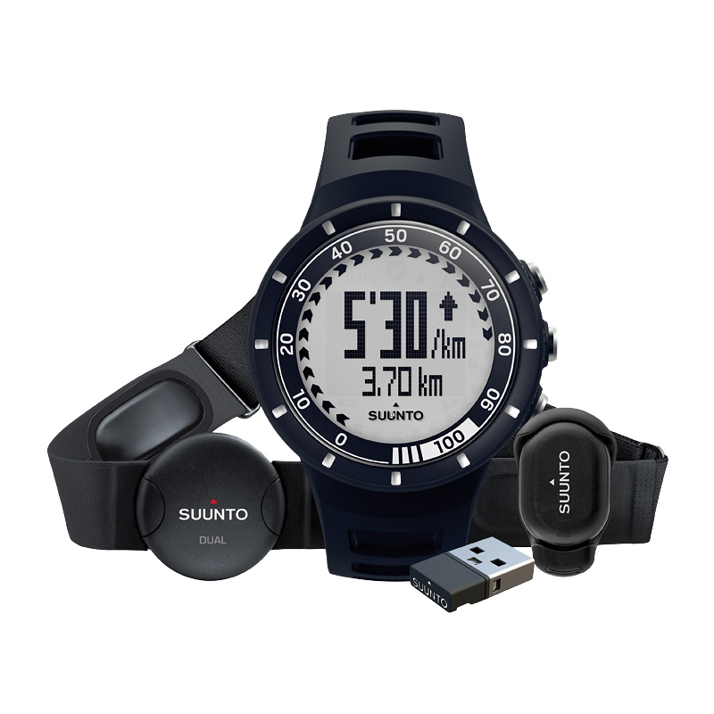 Športtester Suunto Quest Black Running Pack