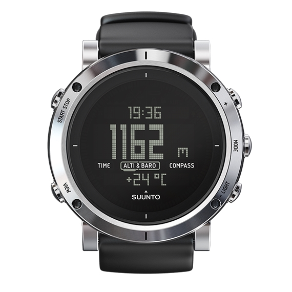 Outdoorový computer Suunto Core Brushed Steel