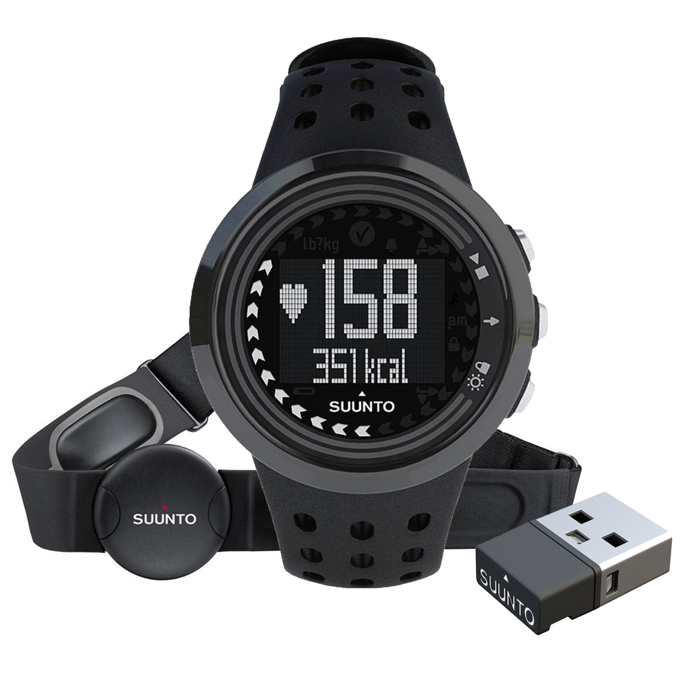 Športtester Suunto M5 Men All Black Pack (+ M.MINI)