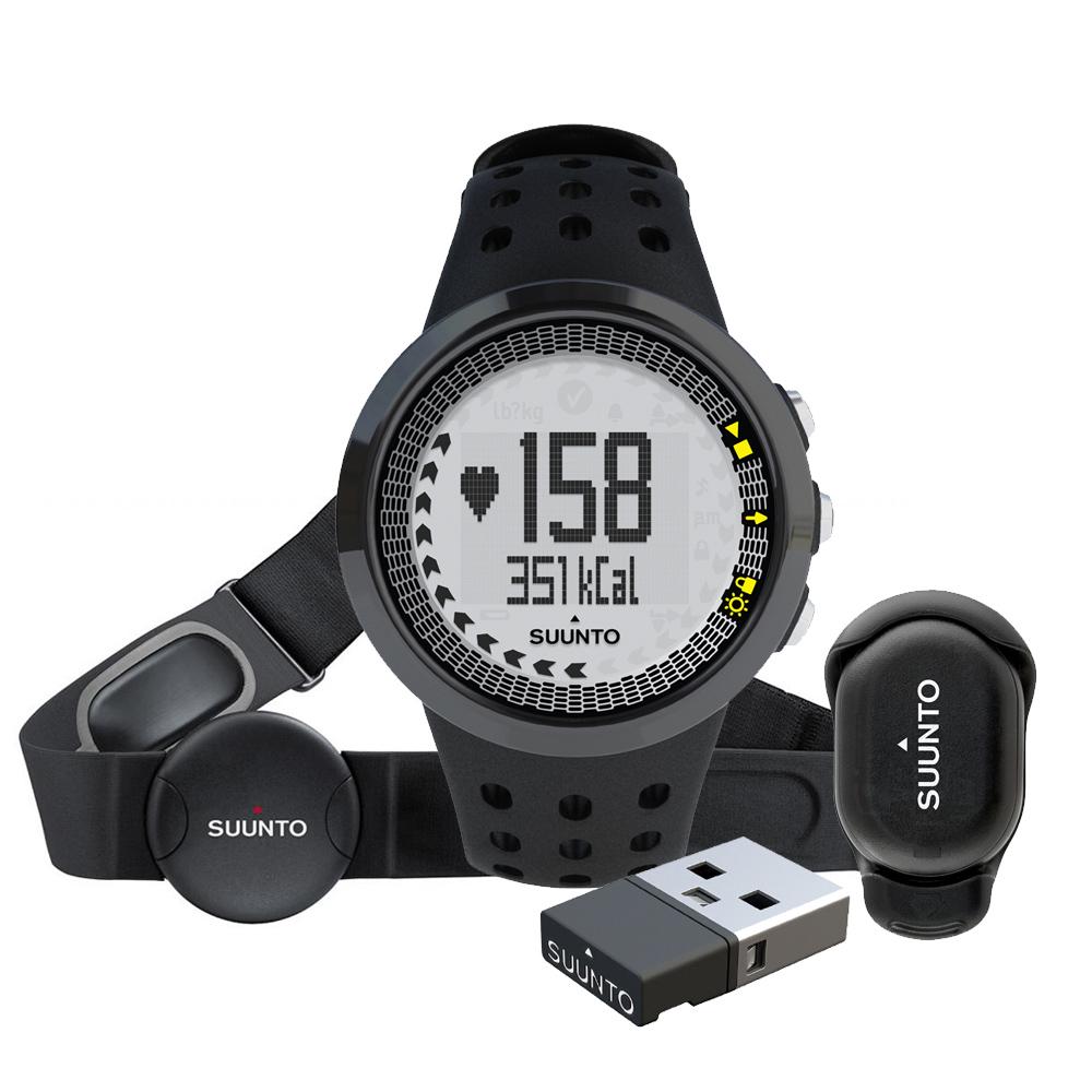 Športtester Suunto M5 Men Black Running Pack (M5 POS. DISP.+ M.MINI)