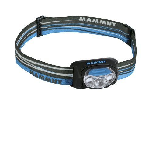 Čelové svietidlo MAMMUT T-Peak modro-čierna
