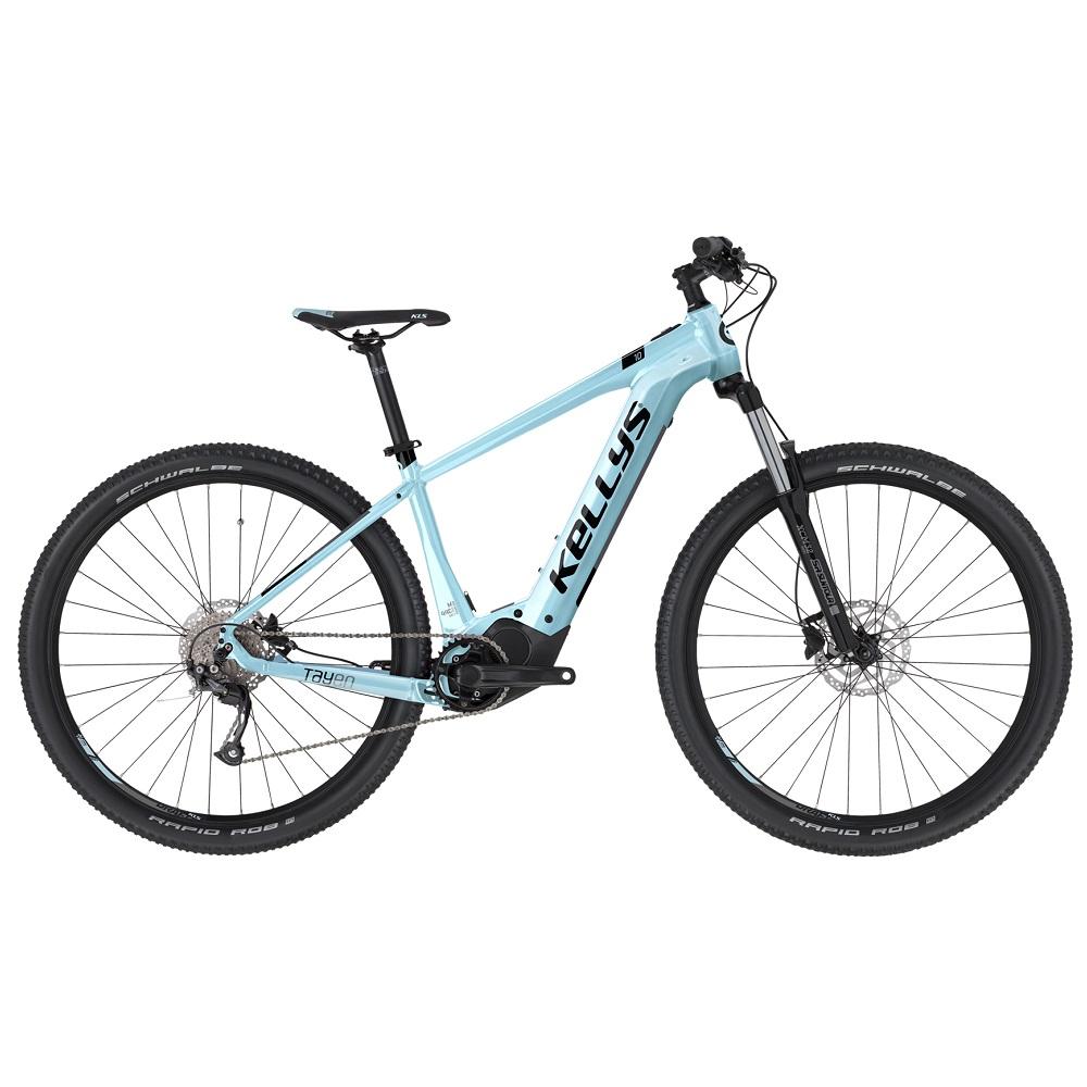 "Dámsky horský elektrobicykel KELLYS TAYEN 10 29"" - model 2020 sky blue - M - Záruka 10 rokov"