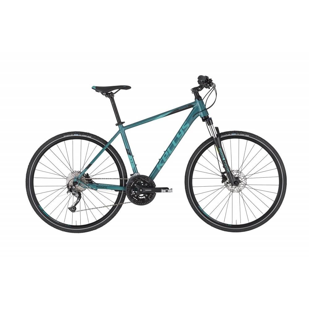 """Pánsky crossový bicykel KELLYS PHANATIC 30 28"""" - model 2021 Teal - M (19'') - Záruka 10 rokov"""