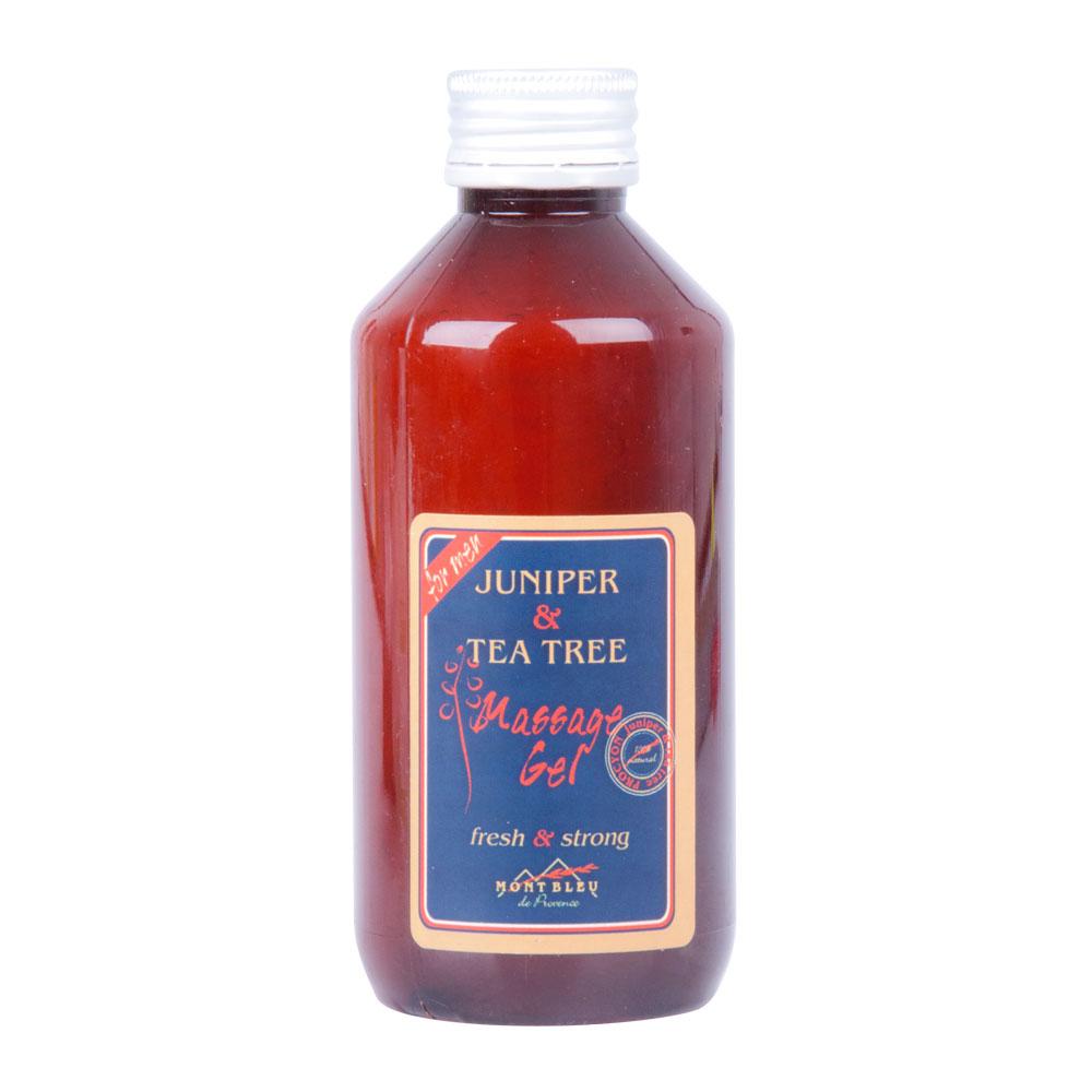 Telový masážny gél Mont Bleu jalovec a tea tree 250ml