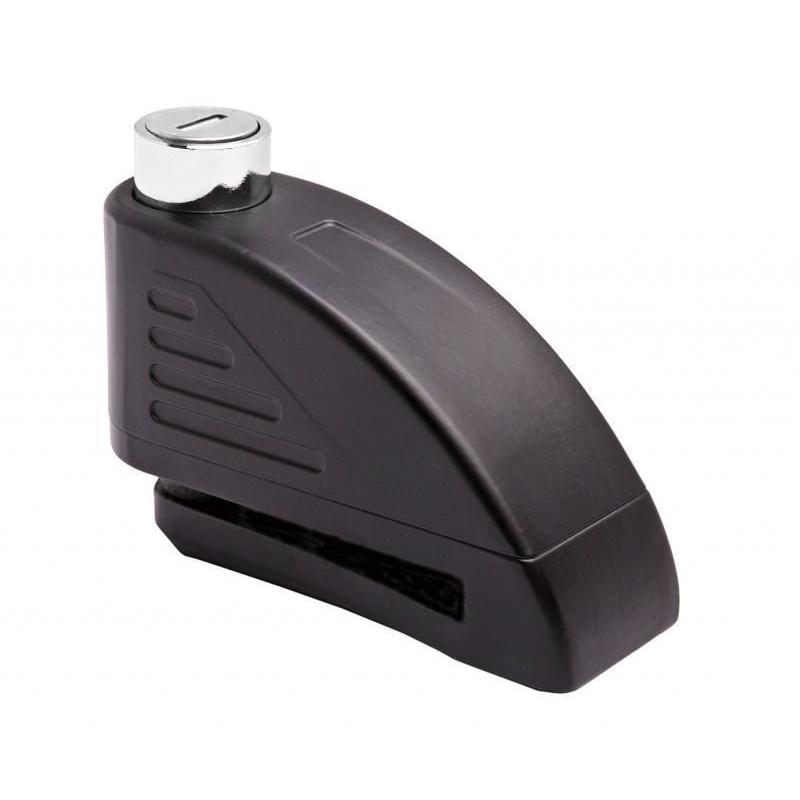 Zámok kotúčovej brzdy Tokoz s alarmom čierna