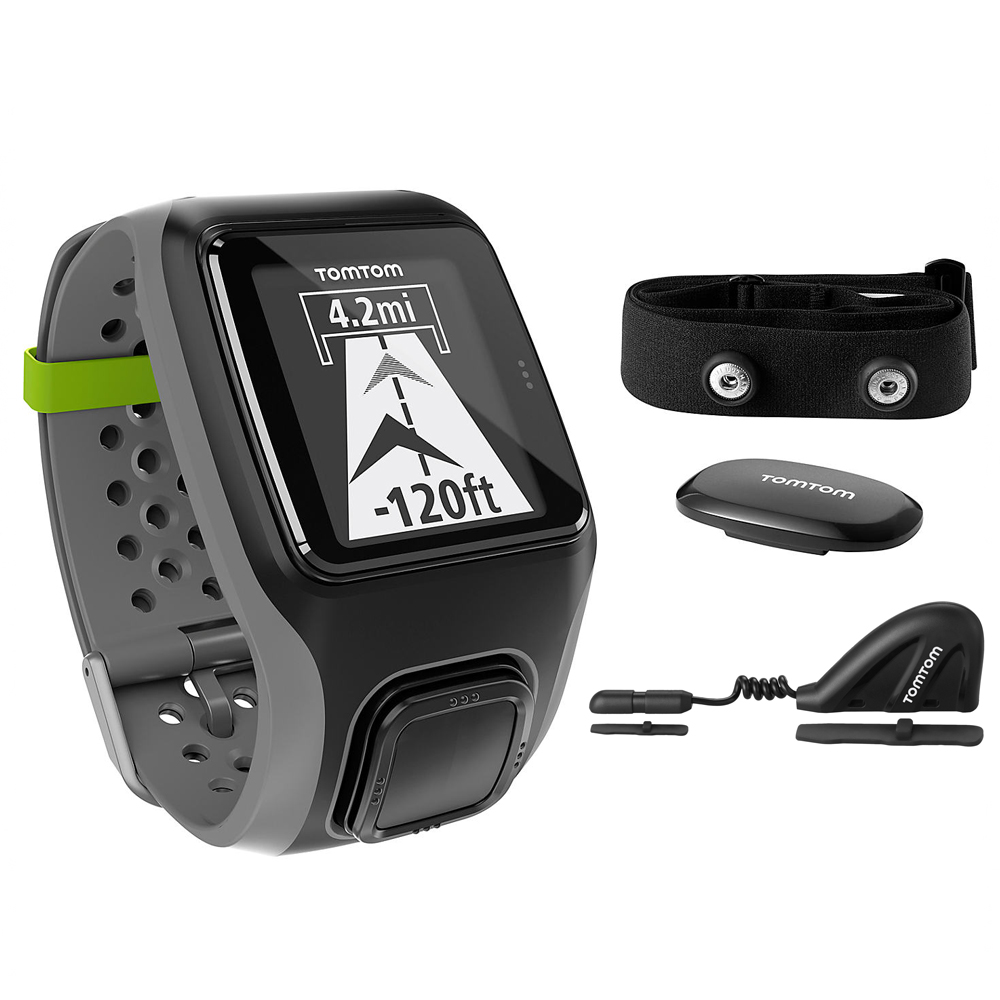 GPS hodinky TomTom MultiSport HRM+CSS+AM