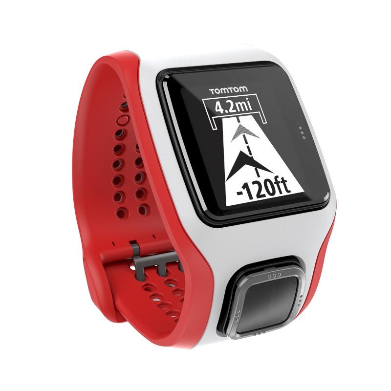 c34442c14 Športtester s GPS TomTom MultiSport Cardio bielo-červená
