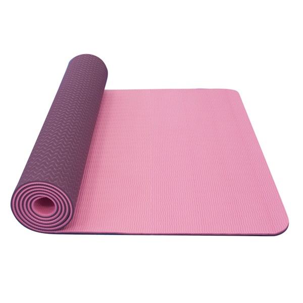 Dvojvrstvová podložka Yate Yoga Mat TPE New