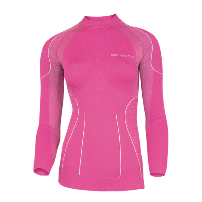 759aaa7eb Dámske termo tričko Brubeck THERMO s dlhým rukávom - fialová ...
