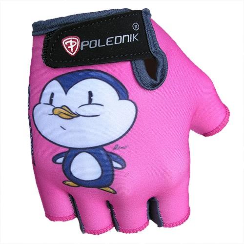 Detské cyklo rukavice POLEDNIK Baby New tučniak - 3