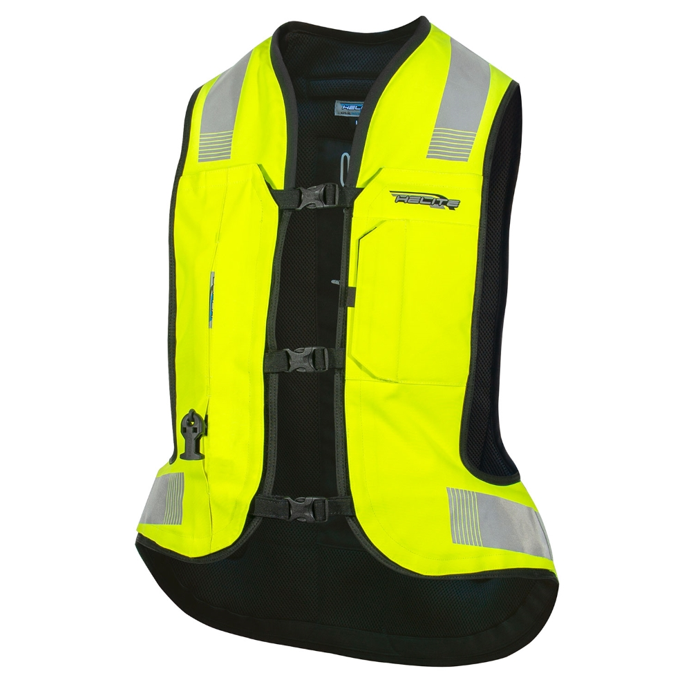 Airbagová vesta Helite Turtle 2 HiVis rozšírená