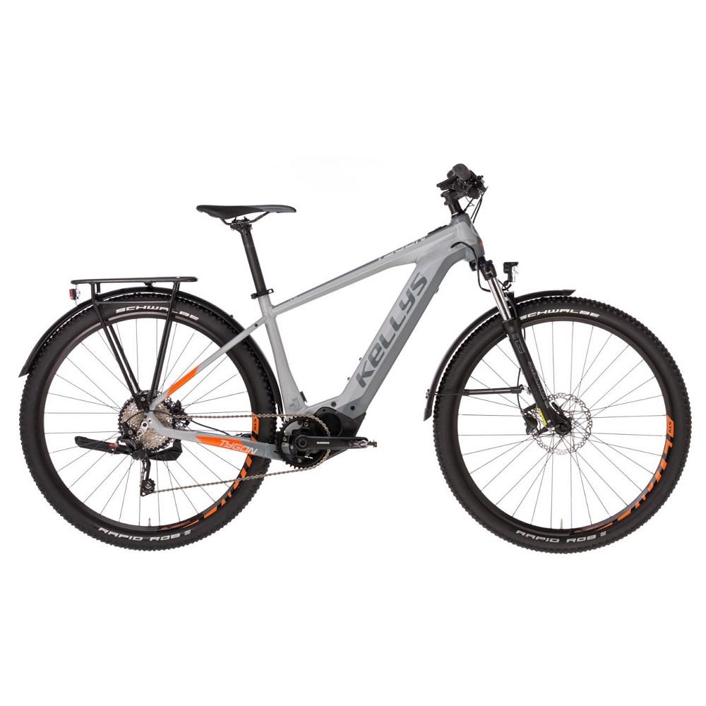 """Horský elektrobicykel KELLYS TYGON 30 29"""" - model 2019 L (19"""") - Záruka 10 rokov"""