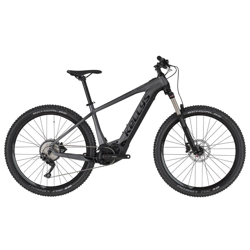"""Horský elektrobicykel KELLYS TYGON 50 27,5"""" - Model 2020 Black - L (18"""") - Záruka 10 rokov"""