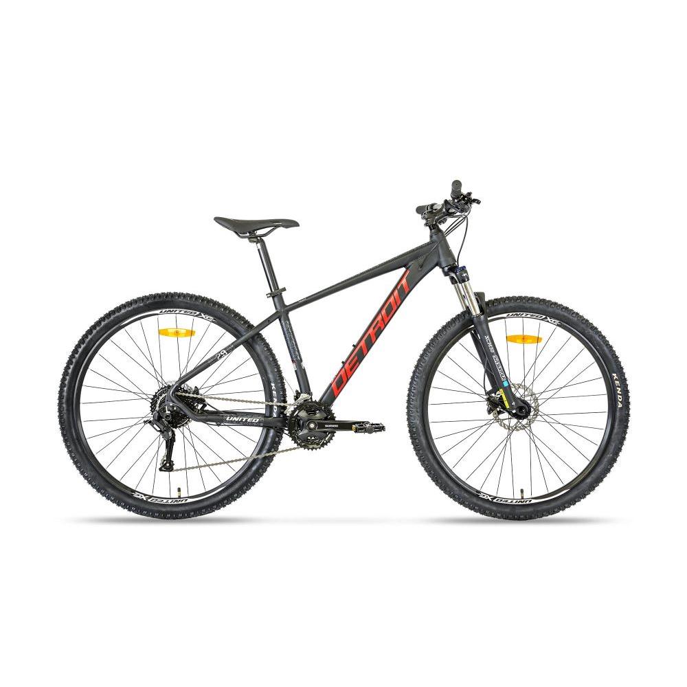 "Horský bicykel United Detroit 29"" - model 2021 čierna - 17,5"""