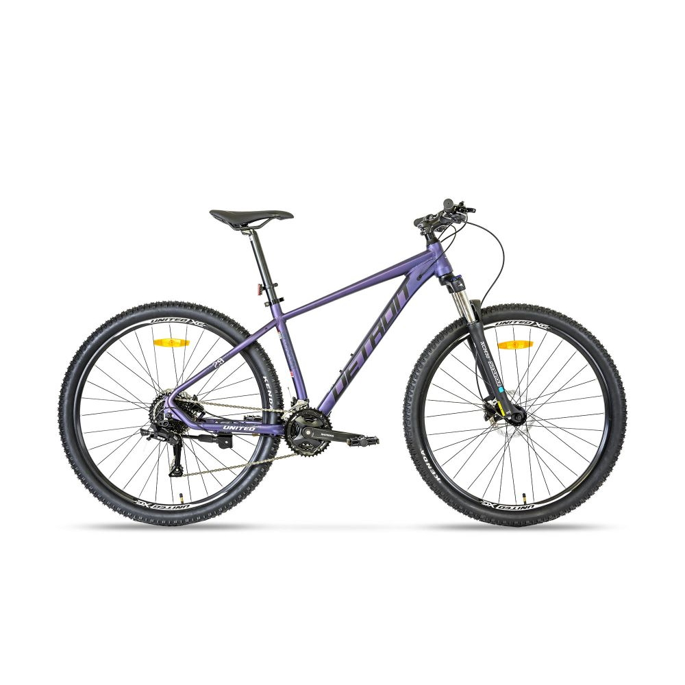 """Horský bicykel United Detroit 29"""" - model 2021 fialová - 17,5"""""""