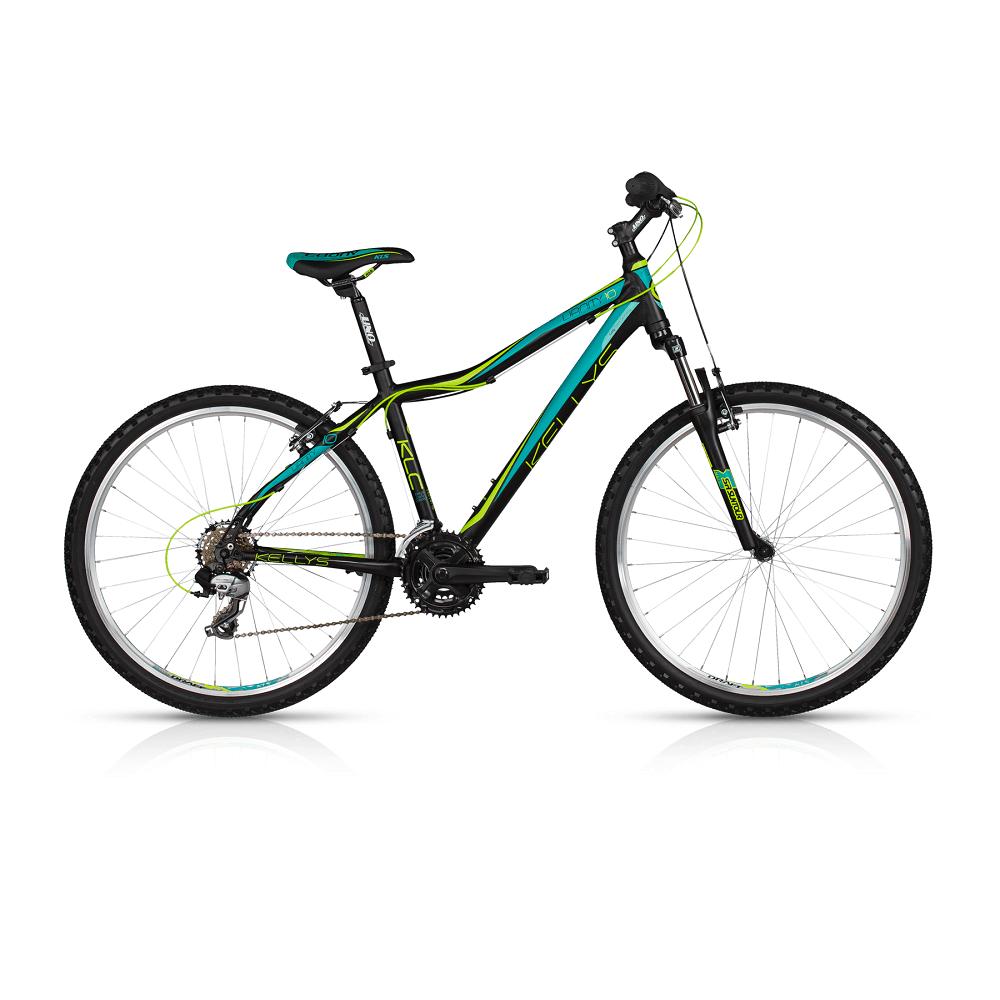 "Dámsky horský bicykel KELLYS VANITY 10 26"" - model 2017 Black - 375 mm (15"") - Záruka 10 rokov"