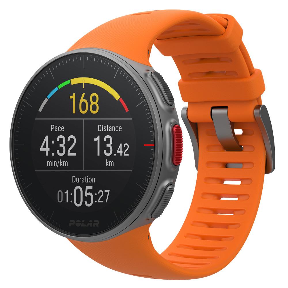 Športové hodinky POLAR Vantage V oranžová