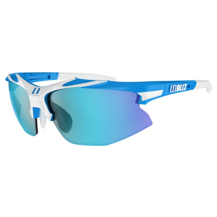 Cyklistické okuliare Bliz Velo XT Small White-Blue