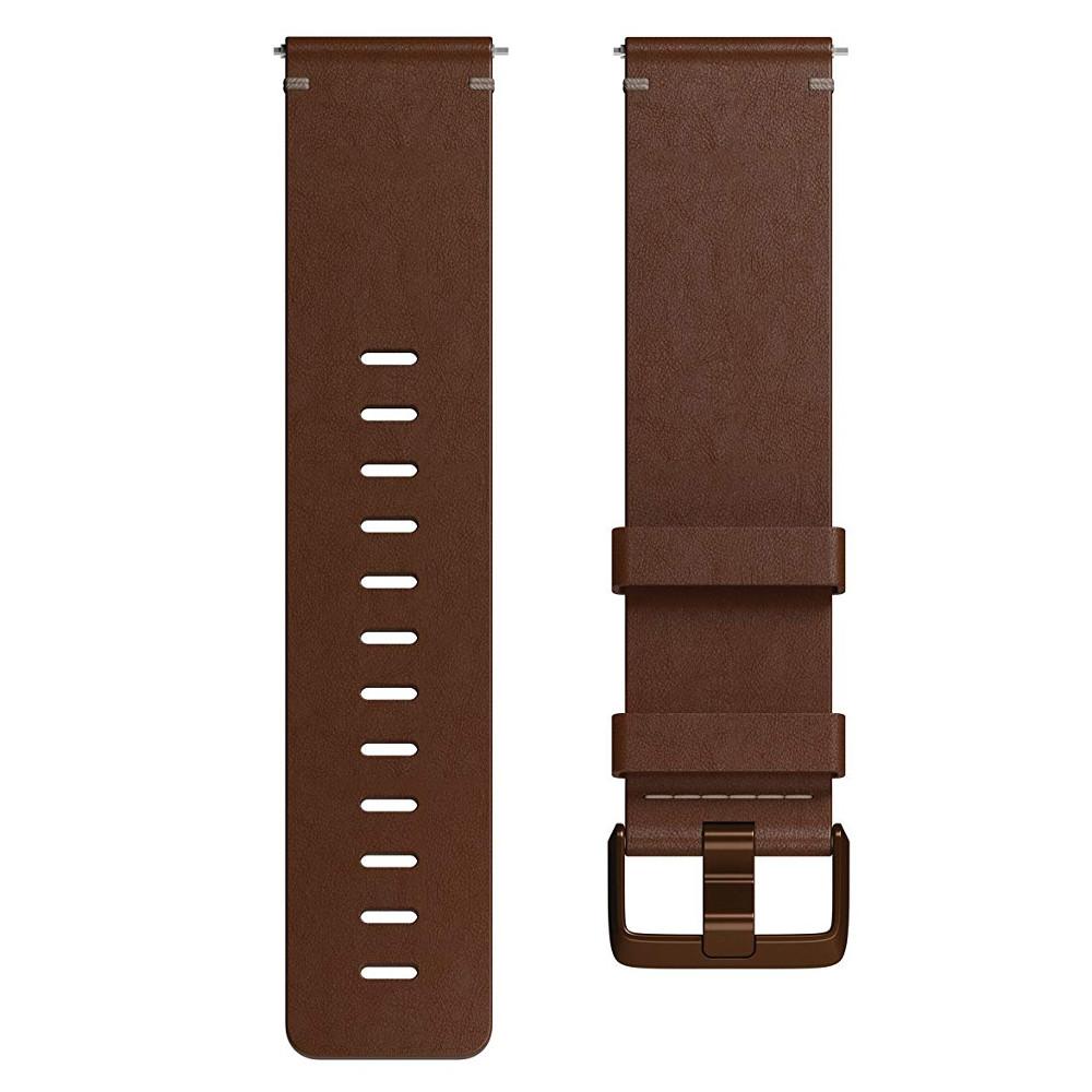 Náhradný remienok Fitbit Versa Leather Cognac L