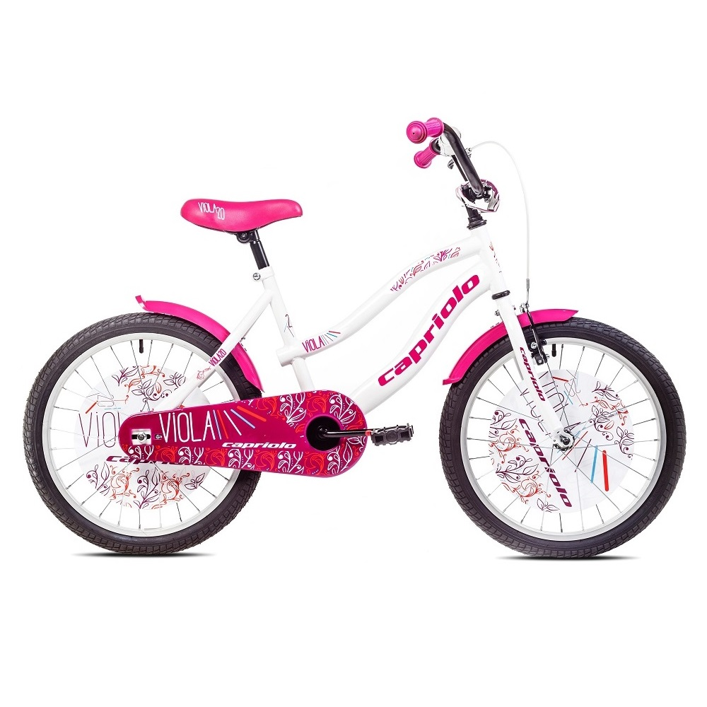 """Detský bicykel Capriolo Viola 20"""" - model 2017 biela"""