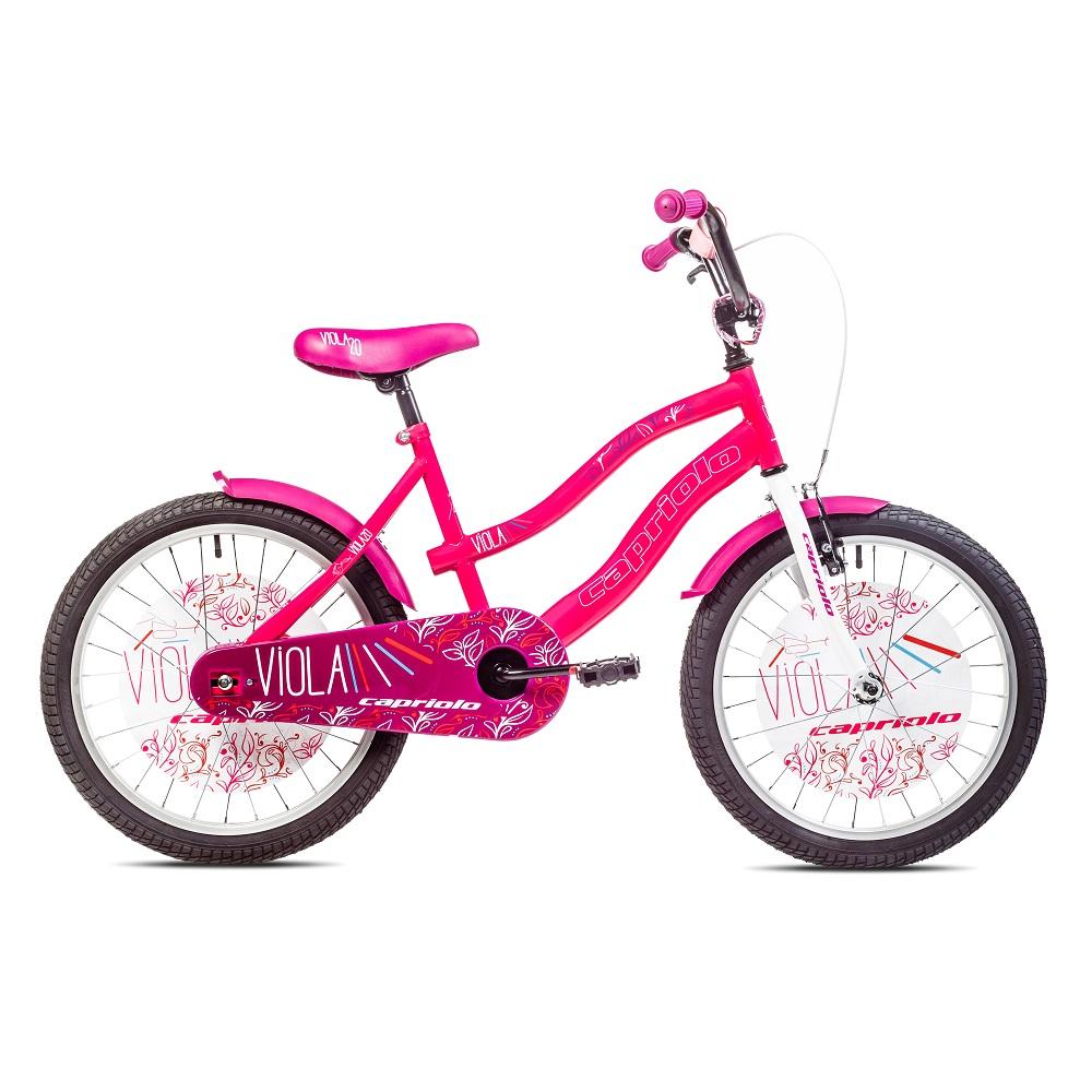 "Detský bicykel Capriolo Viola 20"" - model 2017 ružová"
