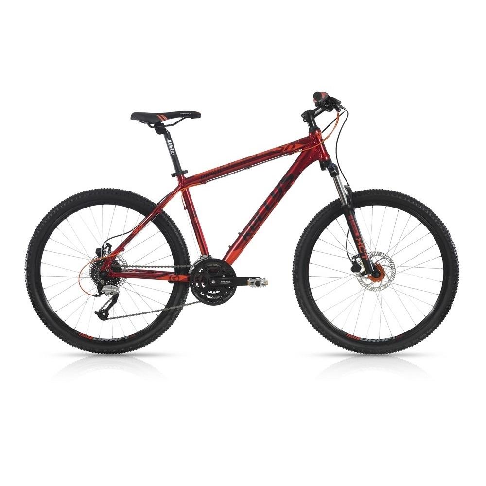 "Horský bicykel KELLYS VIPER 50 26"" - model 2017 Red - 445 mm (17,5"") - Záruka 10 rokov"