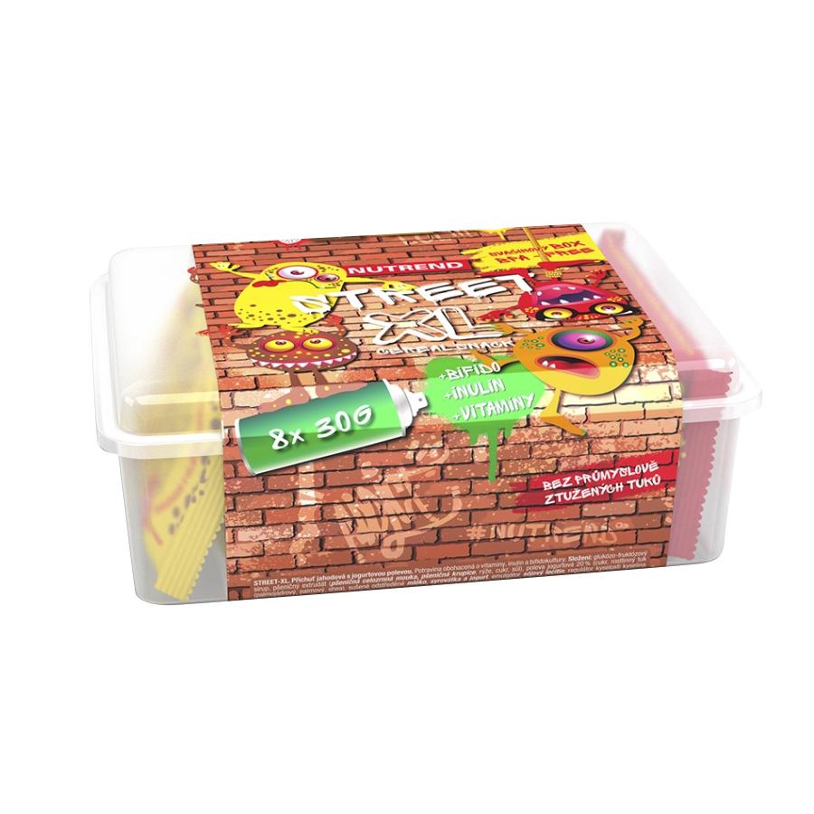 Desiatový box Nutrend Street XL 8 x 30 g