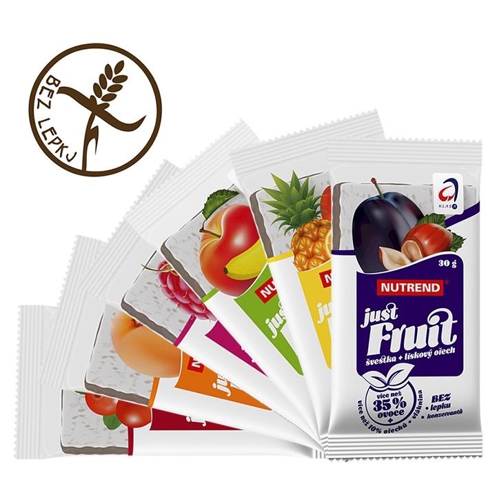 Tyčinka Nutrend Just Fruit 30 g