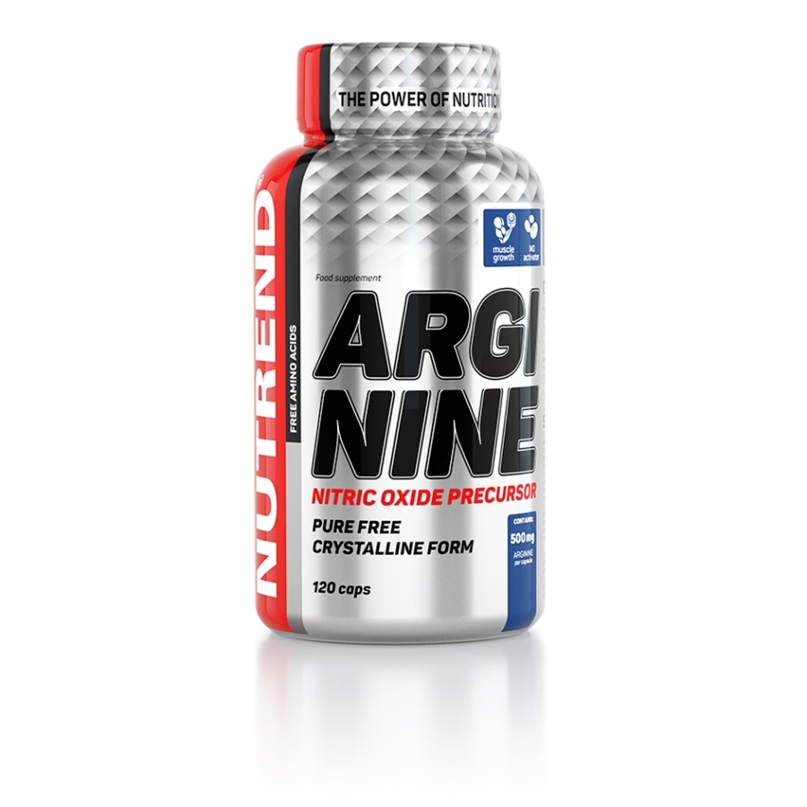 Aminokyseliny Nutrend Arginine 120 kapsúl