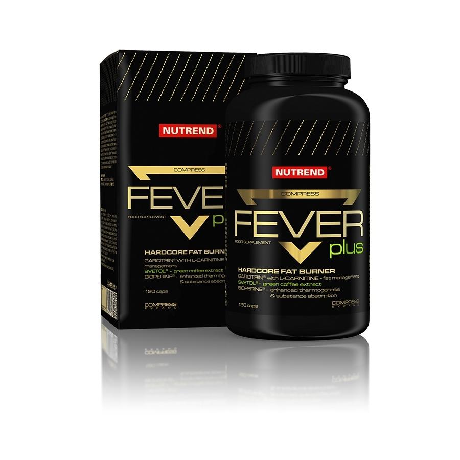 Spaľovač Nutrend Compress Fever Plus 120 kapsúl