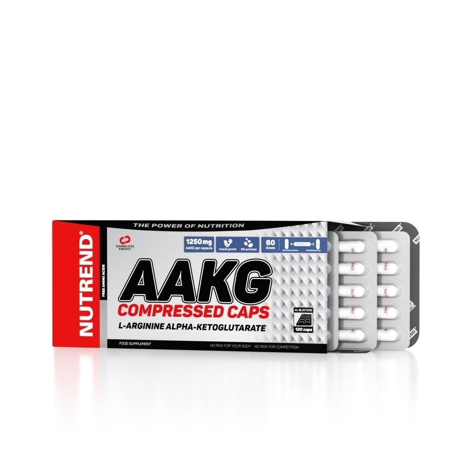Aminokyseliny Nutrend AAKG Compressed Caps 120 kapsúl